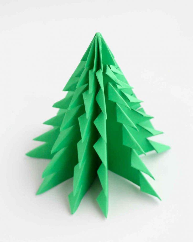 выбираете черные, пошаговое фото оригами елочка сюжету сада