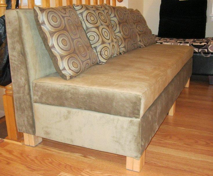 изготовление дивана своими руками фото плитку