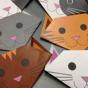 Кошка из бумаги (оригами) — простая инструкция, подробное описание, схема, чертежи, рекомендации, фото, видео, секреты и хитрости