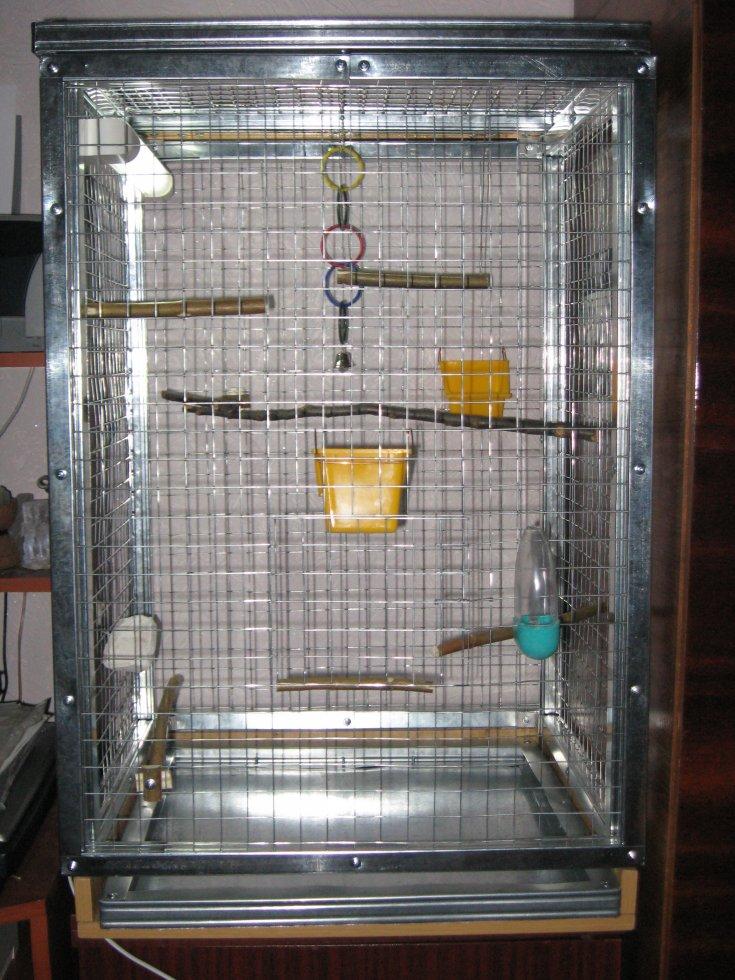 клетка для кореллы своими руками фото камин для