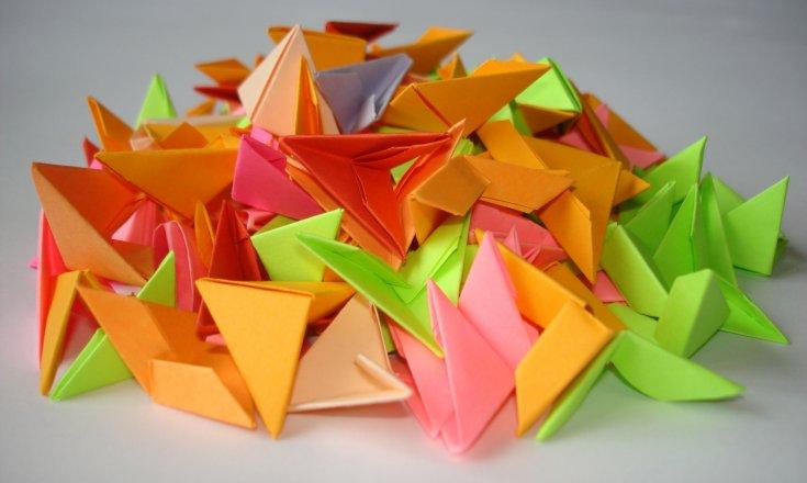 Схемы оригами из модулей