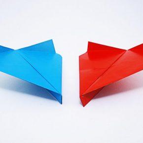 Как сделать самолетик оригами — идеи и простые инструкции чтобы сделать своими руками, смотрите фото и видео!