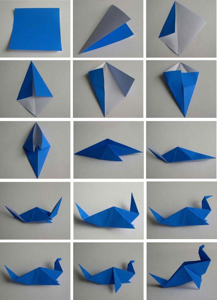 крем оригами пошаговое фото своими руками журавлик будет