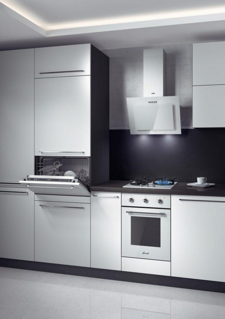 Кухни со встраиваемой техникой фото