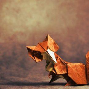 Оригами лиса из бумаги своими руками — очень красивая поделка которую вы легко сделаете с нами, смотрите инструкции и варианты на фото!