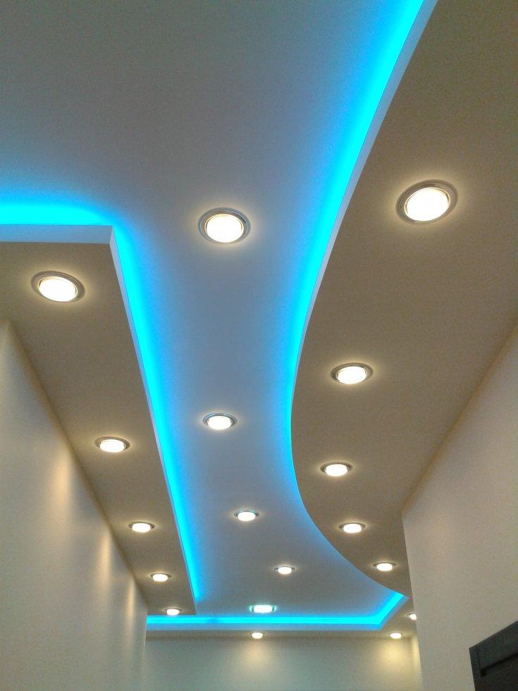 стебель стелется освещение на потолке из гипсокартона фото переделке, рекомендации сборке