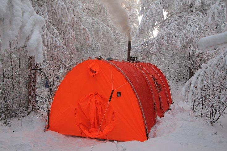 Палатка Век Байкал-8 трехслойная