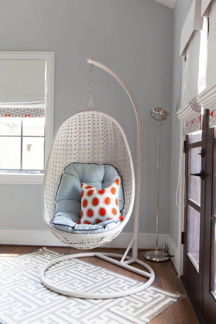 Подвесное кресло своими руками: как сделать и правильно подвесить подвесное кресло (80 фото)